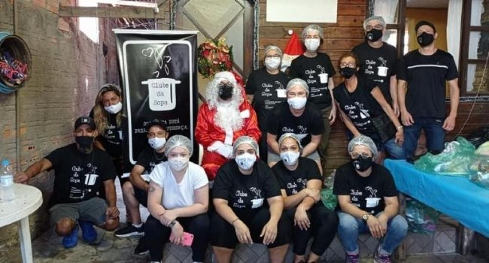 Clube da Sopa realiza ações para Natal das crianças em comunidades em situação de vulnerabilidade