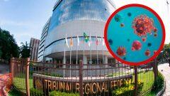 TRF4 informa ao Sintrajufe/RS número de casos confirmados do novo coronavírus no tribunal e procedimentos aplicados