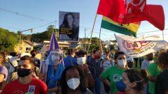 Sintrajufe/RS participa de ato na Cruzeiro contra violência policial e racismo e exige justiça para Jane, ativista morta em ação da polícia