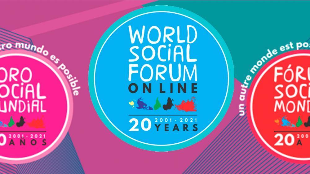 Fórum Social Mundial teve início nesse sábado e vai até 31 de janeiro com atividades online